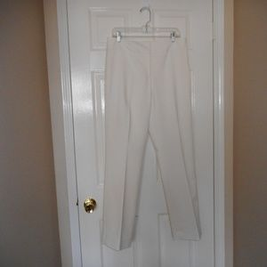 Antonio Melani Dress Pants Size 10 - Soft White